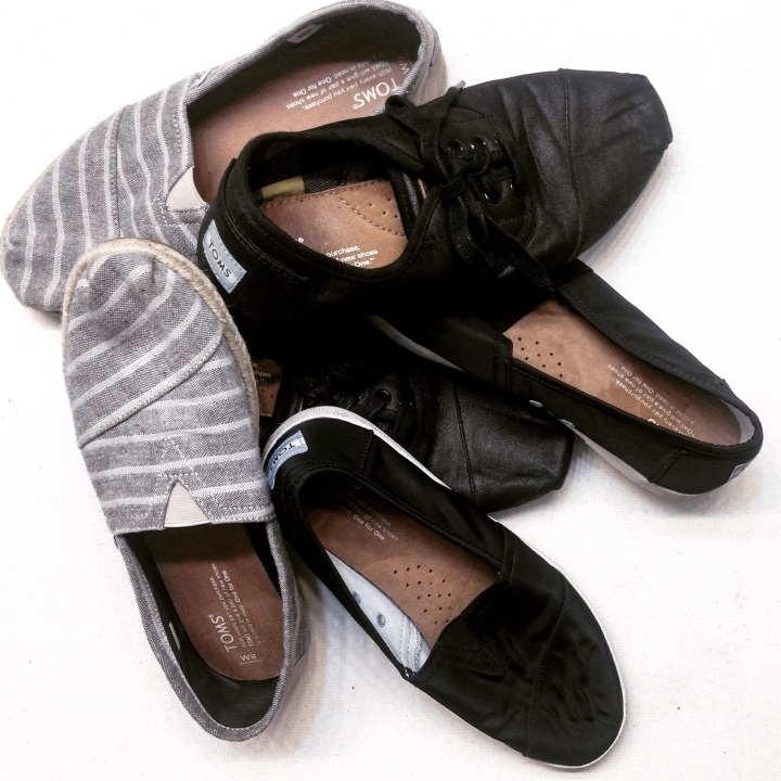 Shoes top my thrift list……